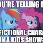 Mlp Pinkie Pie Rainbow Dash Meme Generator - Imgflip via Relatably.com