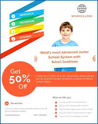 education poster templates 20 professional educational psd school flyer templates educational