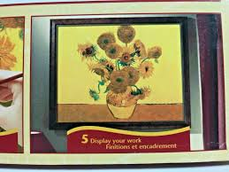 reeves oil painting by numbers masters collection susflowers ppop2 on board for