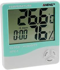 Weather Instruments <b>HTC</b>-<b>1 Indoor LCD</b> Electronic Digital ...
