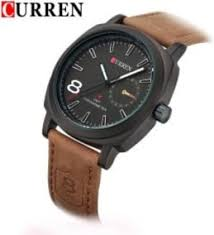 men watch brand buy men watch brand online in at kraftly curren branded leather strap military analog watch for men 001