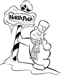 Coloring Book Snowman Free Printable Snowman Coloring Pages Free