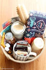 Coffee themed diy gift basket. Diy Self Care Gift Basket The Rising Spoon