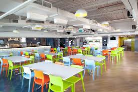 office cafeteria. Cafeteria - Viacom 18 Office