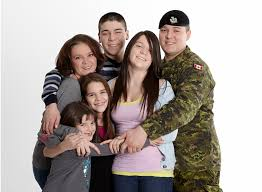 Family Photo Canadas Military Families And The Military Family Services