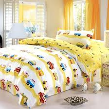 duvet covers ikea canada transportation cars trucks boys bedding twin duvet cover set yellow red blue