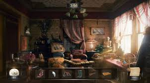 Can you find the items in the pictures? Aavega Interactive Hidden Object Game Concept Art