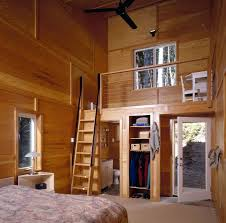 ship ladder stairs iron railing ship ladder in contemporary bedroom with wooden wall and fiberglass door