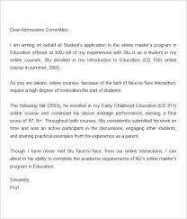 Letter Of Recommendation Student Letter Of Recommendation Graduate School Sample Colleague For