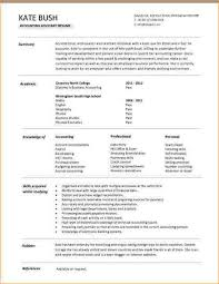 Resume Template Professional Accountant Cv Templates Doc Assistant