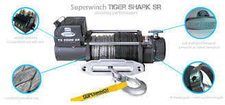 superwinch tiger shark series power