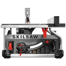 skilsaw. skilsaw 15 amp corded electric 10 in. portable worm drive table saw kit with 30 skilsaw s