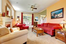 Beautiful Red And Beige Living Room Ideas