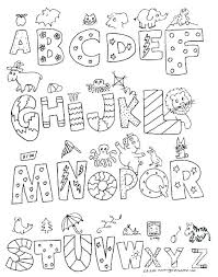 Alphabet Pages To Print Alphabet Coloring Pages To Print Free