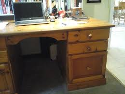 pine office desk. Oregon Pine Office Desk