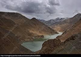 Clouded barren Himalaya mountains with lake - Stock Photo - #5348845 -  PantherMedia Stock Agency