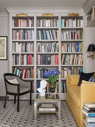 book shelf lighting. inspiration for a timeless family room remodel in san francisco with gray walls book shelf lighting f