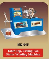 fan winding machine
