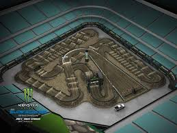 Anaheim Angels Stadium Seating Chart 2019 Anaheim 1 Sx Animated Track Map