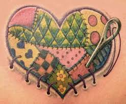 74 best Tattoos images on Pinterest | Bird, Colors and Crafts & Unique & Cute Quilt Tattoos… You would NEVER think of these! Adamdwight.com