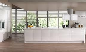 modern contemporary strada gloss white kitchen
