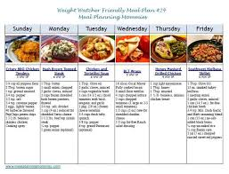 weight watchers friendly meal plan 24