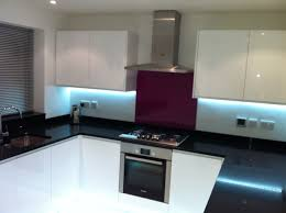 White Gloss Kitchen Handleless White Gloss Kitchen A Fitted Kitchens Bedrooms