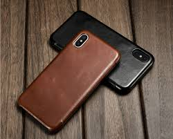 novada genuine leather iphone x xs flip case cover vintage collection