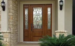 front doors with side panelsFiberglass Front Entry Doors With Sidelights