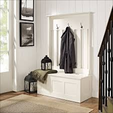 Building A Coat Rack Bench Tall Espresso Wood Entryway Furniture Set With Storage Bench And 79