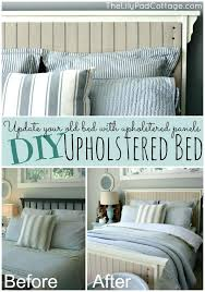 diy upholstered bed upholstered bed update your old bed with upholstered panels diy upholstered bed plans diy upholstered bed