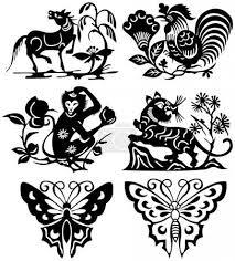 Vektor Zvířata Tetování 2884129 Fotobanka Fotkyfoto
