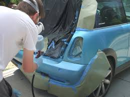 easy how to paint a car pro your self home spray hvlp instruction how to automotive repair refinish neil slade