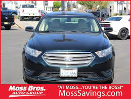 Used 2014 Ford Taurus Sel For Sale Riverside Ca Moss Bros Chrysler Dodge Jeep Ram Riverside
