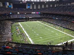 Mercedes Benz Superdome View From Terrace Level 605 Vivid