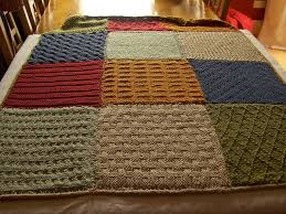 36 best Knitting images on Pinterest | Knitting stitches, Garter ... & Knitted squares blanket by jeanette73, via Flickr I've wanted to make a  blanket Adamdwight.com