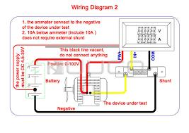 digital voltmeter ammeter dc 0 ~100v 10a voltage current meter 2in1 digital voltmeter ammeter dc 0 ~100v 10a voltage current meter 2in1 digital tester panel meter dc 12v 24v volt ampere meter in instrument parts