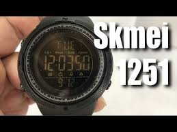 SKMEI <b>Digital</b> Watch Large Face <b>Sport Wristwatch</b> Black 1251 Review