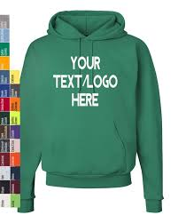Custom Hanes Ecosmart Hooded Sweatshirt P170 Available In All Sizes And Colors Vinyl Or Glitter Print