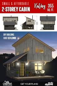 small cabin plans with cost to build