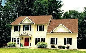 yellow house red door red door yellow house red door picture