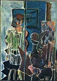 georges braque woman with book 1945