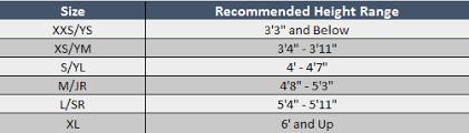 Adidas Shin Guard Size Chart Sizing Chart Soccer Village