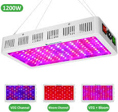 Amazon Led Grow Light Reviews Exlenvce 1500w 1200w Led Grow Light Full Spectrum For Indoor Plants Veg And Flower Led Plant Growing Light Fixtures With Daisy Chain Function