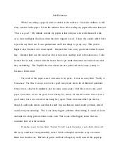 final student evaluation essay