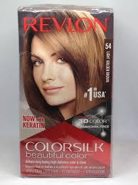 Revlon 54 Light Golden Brown Details About Revlon Colorsilk Gray Coverage Permanent 54 Light Golden Brown Hair Color Lot 3