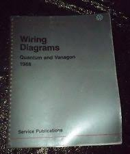 vanagon repair manual 1988 vw volkswagen quantum vanagon wiring diagrams oem factory repair manual