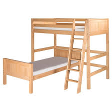 L Shaped Bedroom Bedroom Unfinished Wooden L Shaped Bunk Beds With Stairs Design