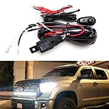 kc lights wiring harness automotive parts online com ijdmtoy 1 led light wiring harness w led light indicator on off
