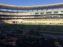 Baylor Bears Football Seating Chart Mclane Stadium Section 105 Rateyourseats Com